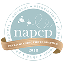 NAPCP Badge for Chicago Newborn Photography